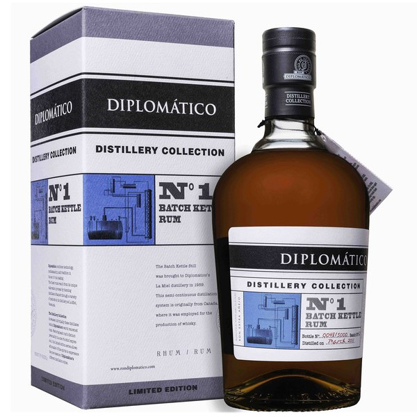 Rum Diplomático Distillery Collection No. 1 Batch Kettle
