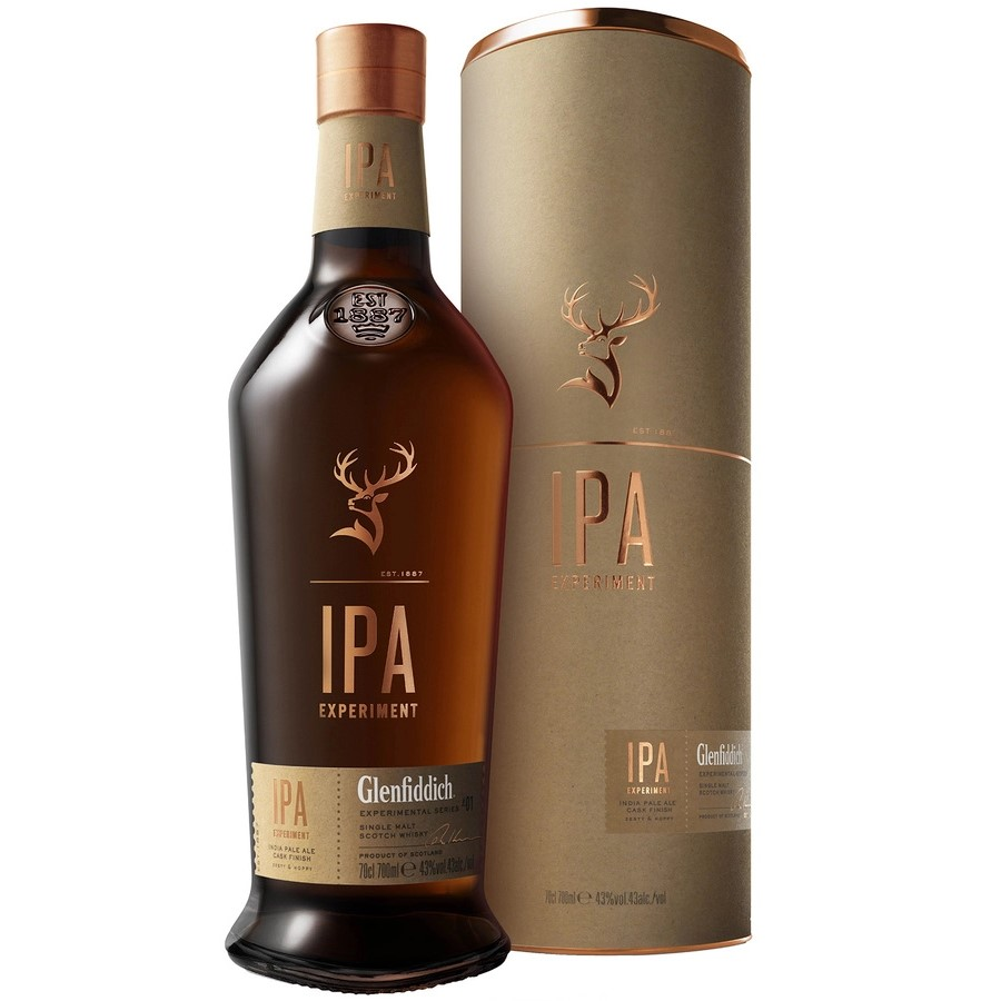Whisky Glenfiddich IPA Experiment