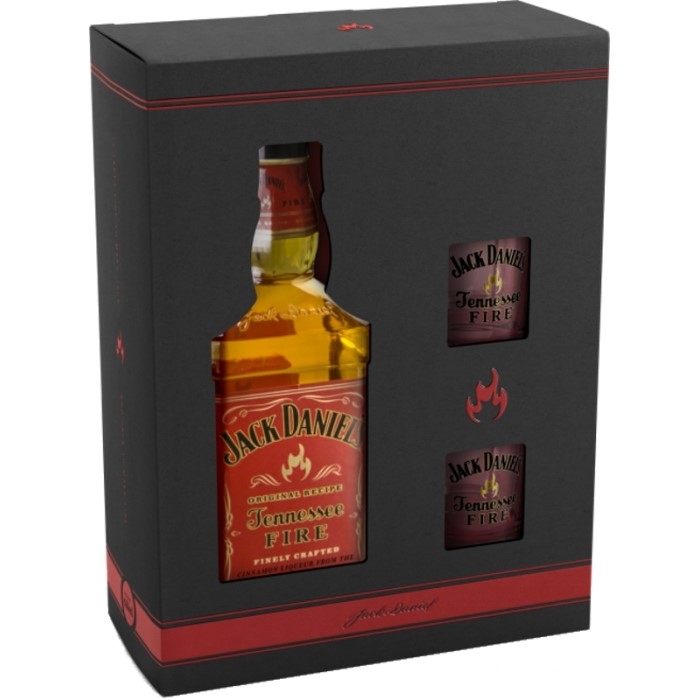 Whiskey Jack Daniel's Fire