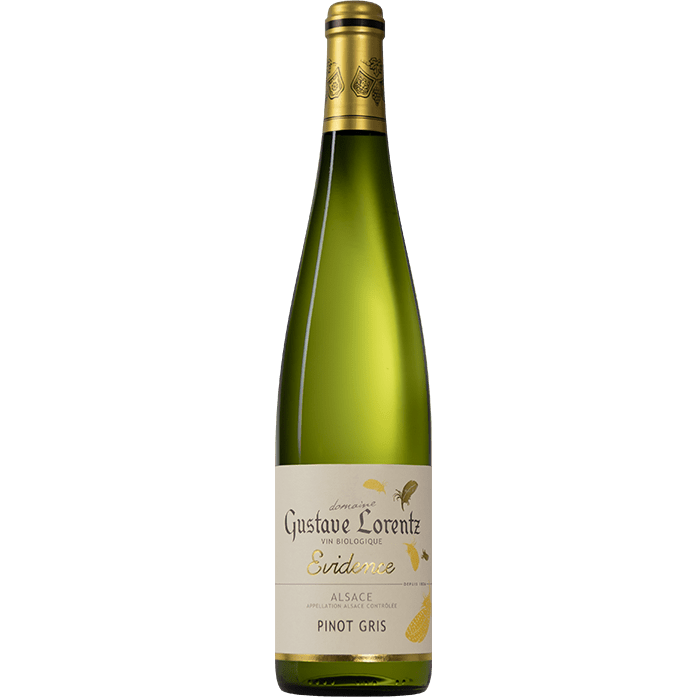 "Víno Gustave Lorentz - Pinot Gris ""EVIDENCE"""