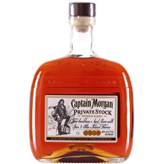 Rum Captain Morgan Private Stock